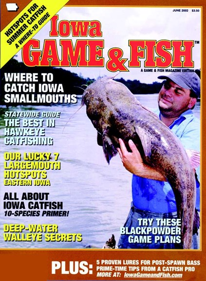 Iowa Game & Fish Cover - 6/1/2002