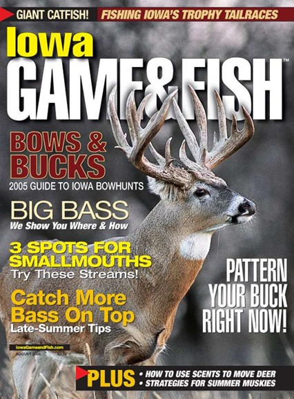 Iowa Game & Fish Cover - 8/1/2005