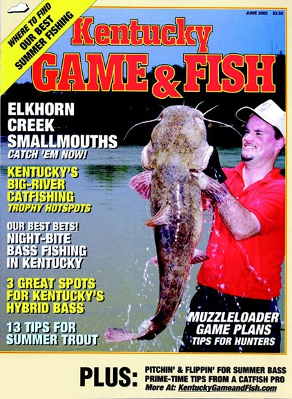 Kentucky Game & Fish Cover - 6/1/2002