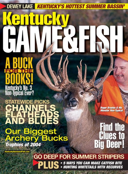Kentucky Game & Fish Cover - 8/1/2005