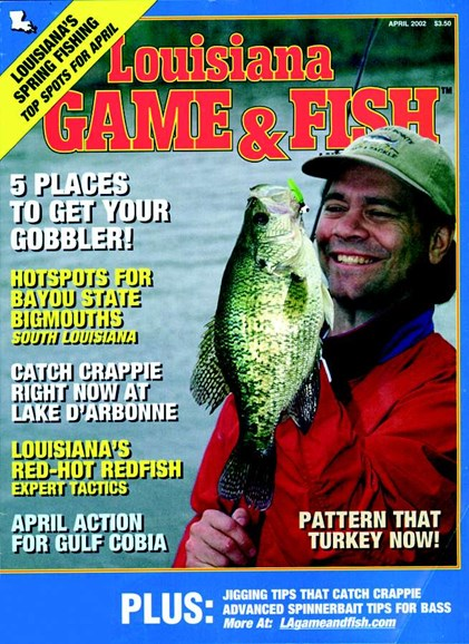 Louisiana Game & Fish Cover - 4/1/2002