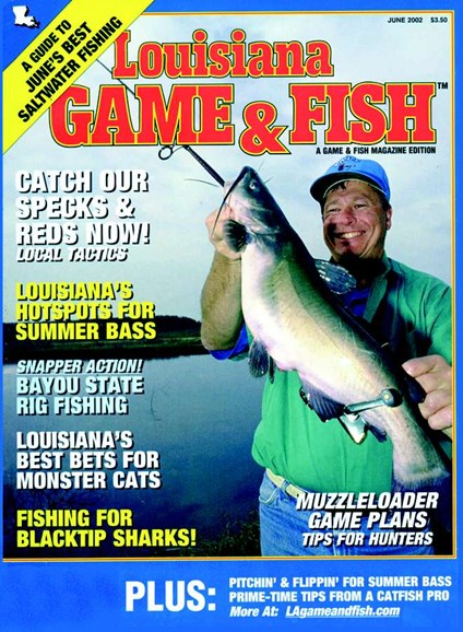 Louisiana Game & Fish Cover - 6/1/2002