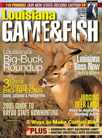 Louisiana Game & Fish Cover - 8/1/2005