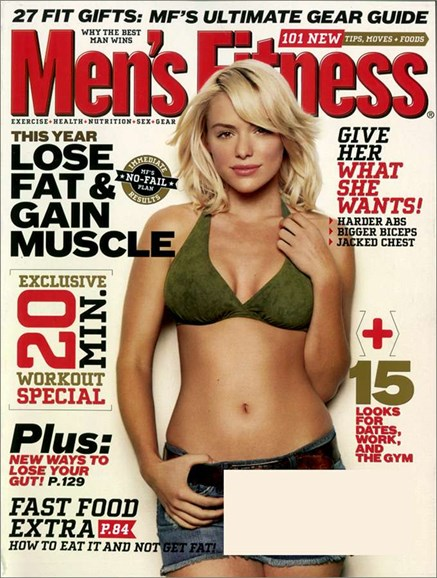 Men's Fitness Cover - 12/3/2006