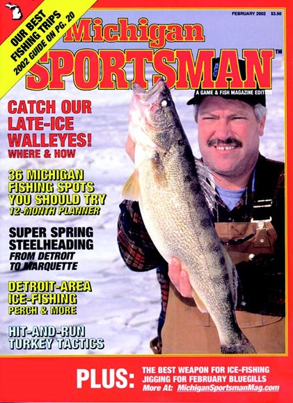 Michigan Sportsman Cover - 2/1/2002