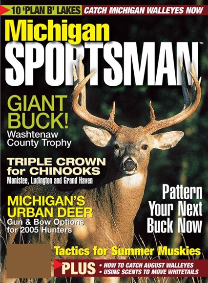 Michigan Sportsman Cover - 8/1/2005