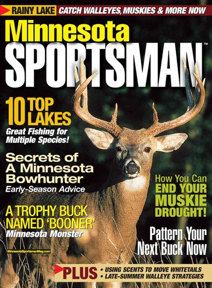 Minnesota Sportsman Cover - 8/1/2005