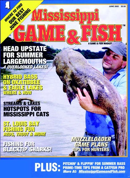 Mississippi Game & Fish Cover - 6/1/2002