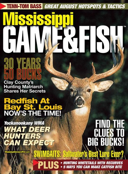 Mississippi Game & Fish Cover - 8/1/2005