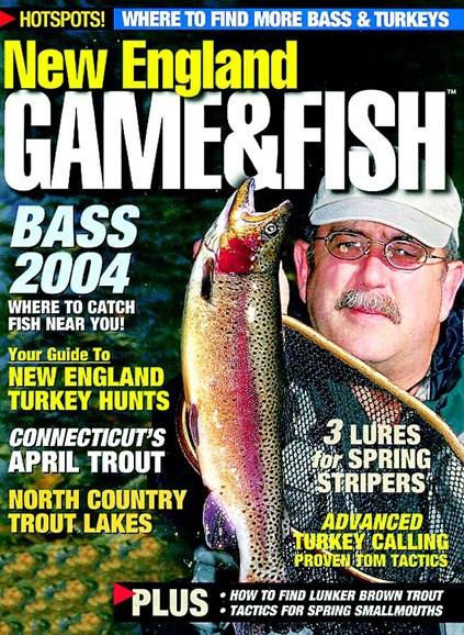 New England Game & Fish Cover - 4/1/2004