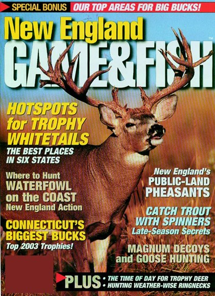 New England Game & Fish Cover - 11/1/2004