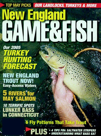 New England Game & Fish Cover - 5/1/2005