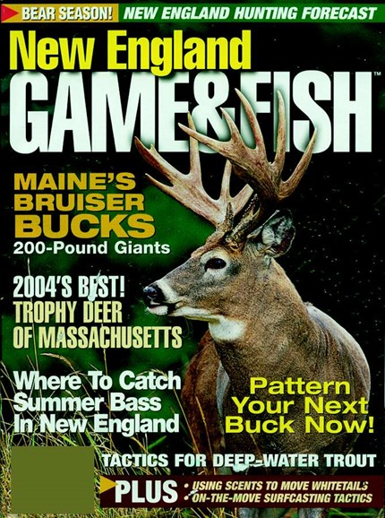 New England Game & Fish Cover - 8/1/2005