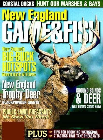 New England Game & Fish Cover - 11/1/2005