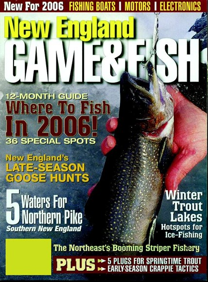 New England Game & Fish Cover - 3/1/2006