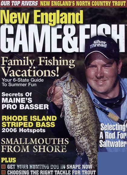 New England Game & Fish Cover - 6/1/2006
