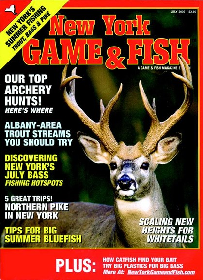 New York Game & Fish Cover - 7/1/2002