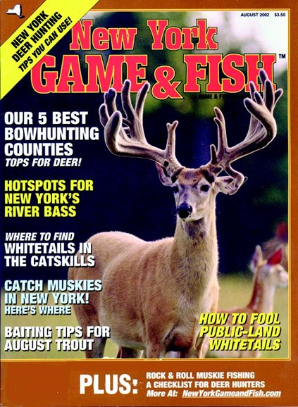 New York Game & Fish Cover - 8/1/2002