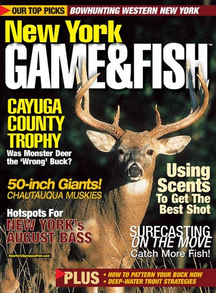 New York Game & Fish Cover - 8/1/2005