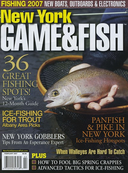 New York Game & Fish Cover - 2/1/2007