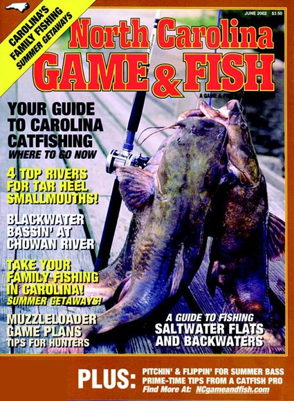 North Carolina Game & Fish Cover - 6/1/2002
