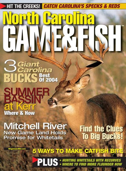 North Carolina Game & Fish Cover - 8/1/2005
