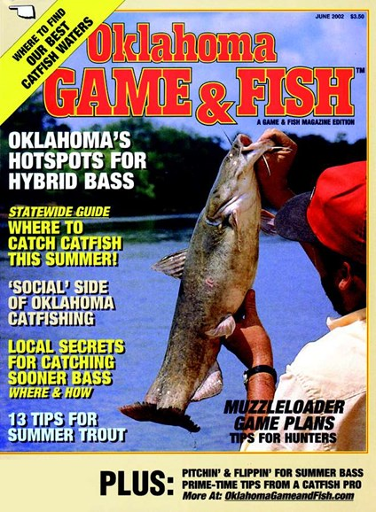 Oklahoma Game & Fish Cover - 6/1/2002