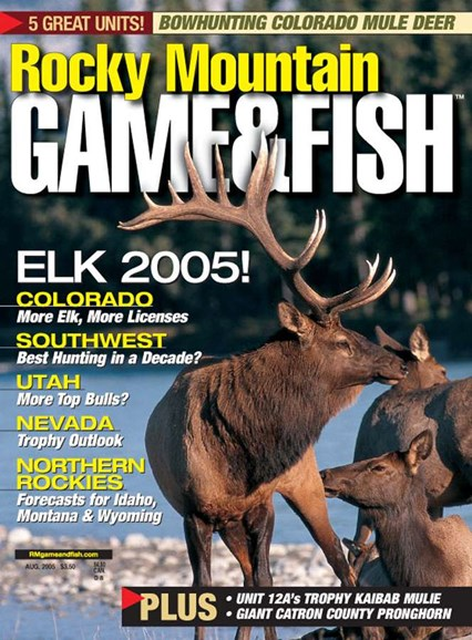 Rocky Mountain Game & Fish Cover - 8/1/2005