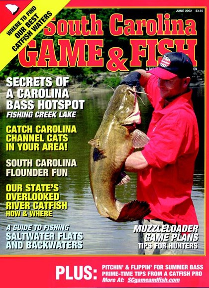 South Carolina Game & Fish Cover - 6/1/2002