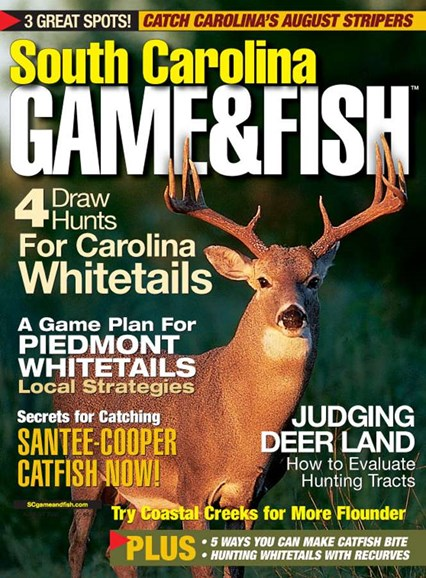 South Carolina Game & Fish Cover - 8/1/2005