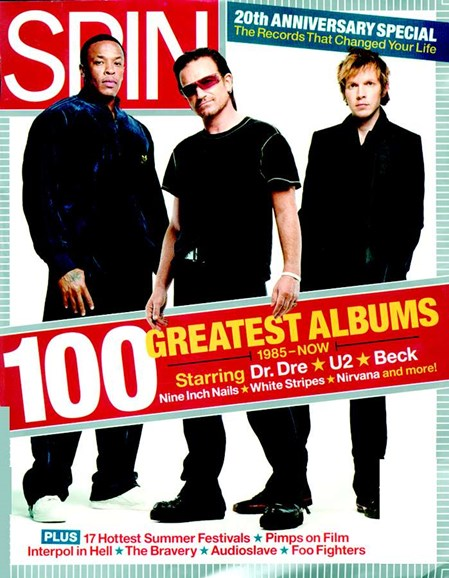 Spin Cover - 7/1/2005