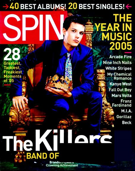 Spin Cover - 1/1/2006