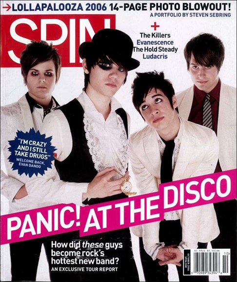 Spin Cover - 10/1/2006