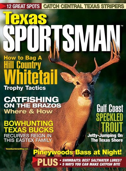 Texas Sportsman Cover - 8/1/2005