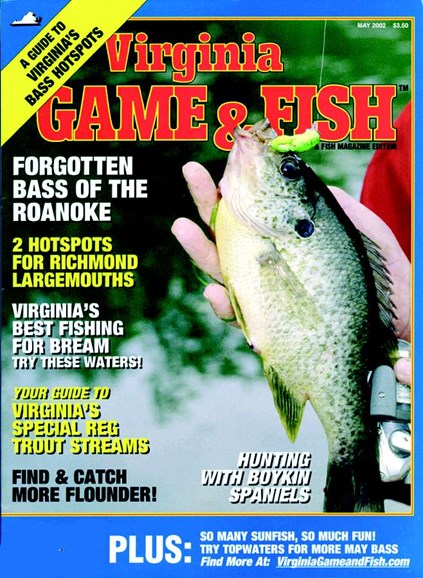 Virginia Game & Fish Cover - 5/1/2002