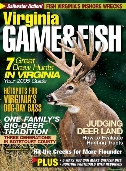 Virginia Game & Fish Cover - 8/1/2005
