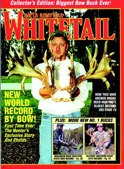 North American Whitetail Cover - 2/1/2001