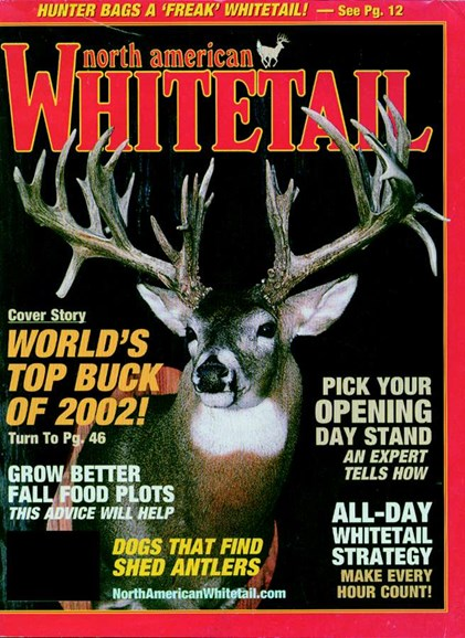 North American Whitetail Cover - 9/1/2003
