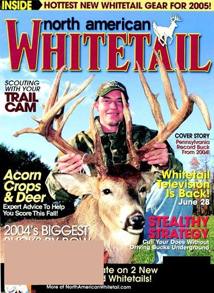 North American Whitetail Cover - 7/1/2005