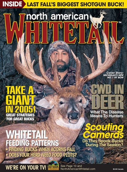 North American Whitetail Cover - 8/1/2005