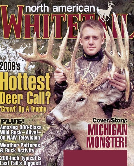 North American Whitetail Cover - 7/1/2006