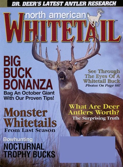 North American Whitetail Cover - 10/1/2006