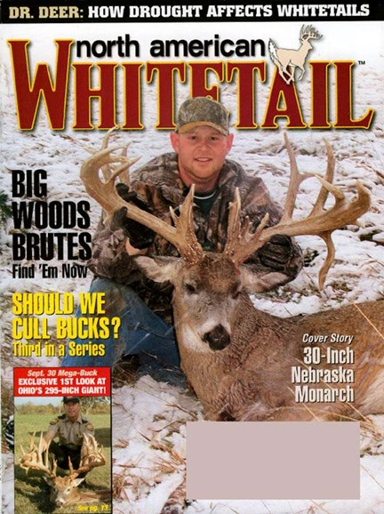 North American Whitetail Cover - 12/1/2006