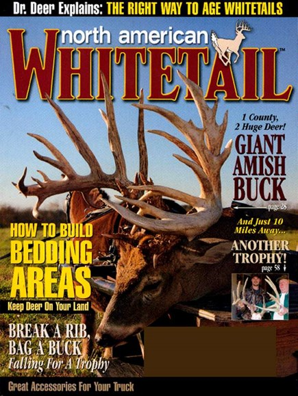 North American Whitetail Cover - 1/1/2007