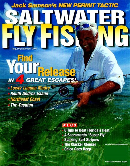 Saltwater Fly Fishing Cover - 8/1/2004