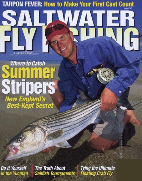 Saltwater Fly Fishing Cover - 6/1/2006