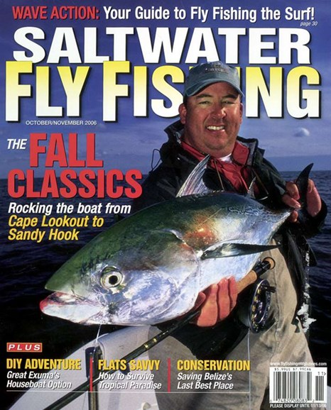 Saltwater Fly Fishing Cover - 11/1/2006