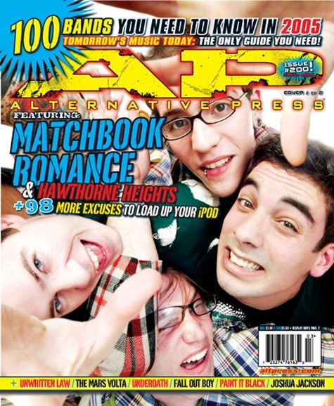 Alternative Press Cover - 3/1/2005