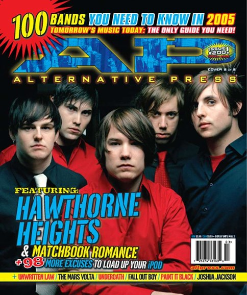 Alternative Press Cover - 3/7/2005