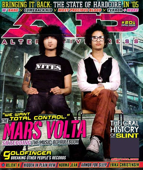 Alternative Press Cover - 4/1/2005